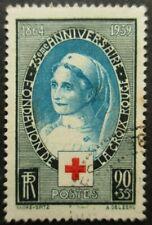 FRANCE-1939-Croix rouge N°422 oblitéré