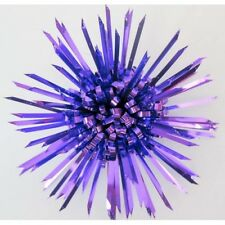 Gift Bows Hedgehog Purple Approx 10cm pack of 3