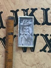 Macabre Skeleton Lady Victorian Oddities Soldered Pendant Horror Goth Morbid