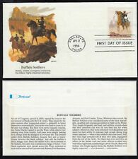 1994 Buffalo Soldiers Sc 2818 FDC Fleetwood cachet