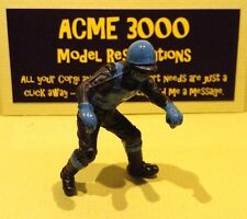Britains 9650 9684 Reproduction Painted Plastic Speedway Rider - Black & Blue