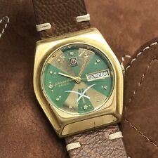 Vintage Candino 2000 Day Date Automatic Arabic Saudi Logo Swiss Made