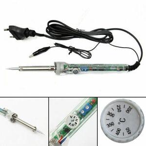 Adjustable Welding Heat Electric Tool Temperature 220V Iron Gun 60W Soldering