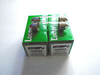 35MM LUCAS SV7-8 CAR FESTOON 256 NUMBER PLATE INTERIOR LIGHT BULBS LAMP 12V 3W