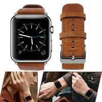 PASBUY 75B Genuine Leather Strap Band for Apple Watch Series 4 3 2 1 38mm LiBrow