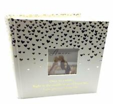 Wedding Photo Album With Gold Hearts - Fairy Tale 80 Photos WG798