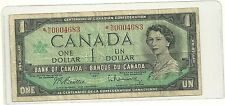 1967 Canada  dollar Bill Replacement note Low Serial # *N/O0004683
