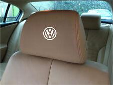VW LOGO CAR SEAT / HEADREST  - BADGE - Vinyl Stickers - Graphics X5