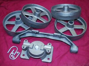 Witte Cart Truck Kit Wheel Bolster Gas Engine Motor