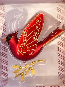 Hallmark Keepsake Ornament 2016-RUBY RED CARDINAL-Premium-Metal