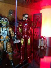 "Marvel Legends Iron Man 2 MK 4 Armor Tony Stark Shades 6"" Figure and Accessories"