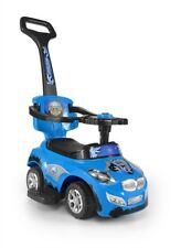 3 in 1 Ride on Car Toddler Blue Happy Trike Kids Milly Mally Travel System Toy