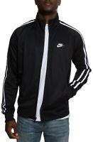 Nike Sport Men's N98 Tribute Track Top Zip Up Jacket Black AR2244-010 MD XL 2XL