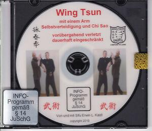 Wing Tsun Chun einarmig - mit einem Arm Selbstverteidigung, Chi Sao, Formen DVD