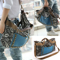 New Fashion Handbag Lady Shoulder Bag Tote Purse PU Leather Women Messenger Hobo