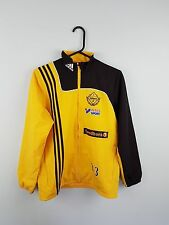 VTG RETRO MENS/YOUTHS ADIDAS ATHLETIC SPORTS ZIP-UP TRACKSUIT TOP JACKET UK S
