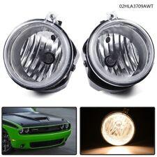 Clear Fog Lights Bumper Lamps for Dodge Challenger Charger Nitro Avenger Caliber