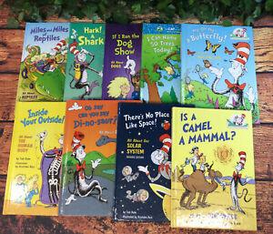 DR. SEUSS BOOKS, LOT OF 9 BOOKS,  *****FREE SHIPPING*****  B-7 #76