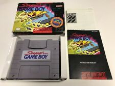 Super Gameboy Snes Super Nintendo Game Boy CIB Complete
