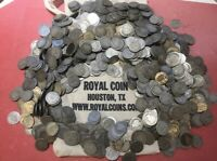 Barber Dime Roll 90% Silver $5 Face 50 Circulated Mixed Date US Coin Lot