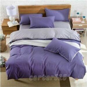 New Double Color Warm Thick Bedding Set Quilt Cover+Sheet+Pillow Case Four-Piece