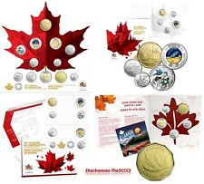 2017 CANADA 150 RCM COIN SETS - LOT OF 5 SETS with BONUS!    -   SALE 15%
