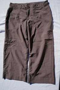 Patagonia Happy Hike Lightweight Crop Capri Stretch Hiking Pants. Womens 10 MINT