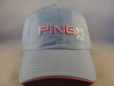 094f0a0caeb2f Womens Ping Golf Adjustable Strap Cap Hat Blue
