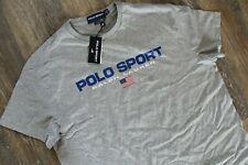 NWT Polo Ralph Lauren Polo Sport Men's USA Performance T-Shirt Gray L