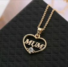 Presents for Mother Rose Gold Jewellery Crystal Necklace Gifts for Mum Mom Wife