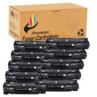 10 Black 83A CF283A Toner Cartridge For HP Laserjet Pro MFP M125 nw rnw Printers