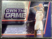 2007-08 Topps - LeBron James - Own The Game - OTG3