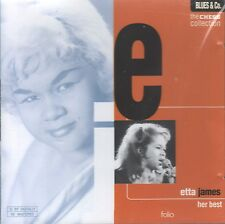 Her Best (The Chess Collection) by Etta James (CD, 1997 Folio) Remastered/Sealed