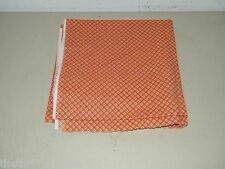 Vintage Terracotta Calico Quilting Cotton Blend 2 1/4 Yards 17189