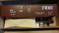 Athearn Bev-Bel HO BB 50' Plug Dr  Boxcar Kit, Western Maryland NIB