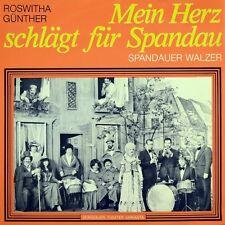 """7"""" ROSWITHA GÜNTHER Mein Herz schlägt für Spandau VARIANTA THEATER BERLIN 1978"""