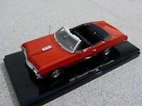 1967 Chevrolet Impala SS Convertible Cabrio Bolero red rot TSM Modellauto 1:43