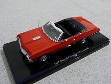 Chevrolet Impala SS 67 Convertible Cabriolet Bolero red rot TSM Modellauto 1:43