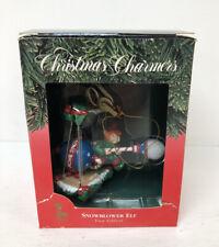 "Santa's Best ""Snowblower Elf"" Christmas Charmers Ornament"
