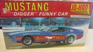 "Johan GC-2100 Mustang ""Digger"" Funny Car model kit"