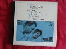 ELLA FITZGERALD Sings the George & Ira Gershwin Song Book~ BOX 5x LP V-29-5 VG++