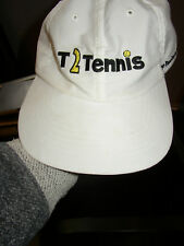 Vintage Tennis Hat Cap - T2Tennis The Flexible way to Play by Headmost