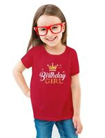Birthday Girl Princess Party Cute Girly Toddler/Kids Girls' Fitted T-Shirt Gift