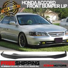 Fits 98-02 Honda Accord 4Dr PU T-R Front Bumper Lip Spoiler