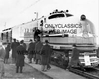 1938 UNION PACIFIC RAILROAD TRAIN ELECTRIC STEAM LOCOMOTIVE 8X10 PHOTO ERIE PA