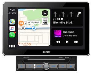"Jensen CAR8000 10.1"" Car Multi Media Receiver Touchscreen LCD Bluetooth"