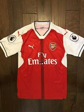 Mesut Ozil Arsenal Jersey Authentic Premier League By Puma Mens Size L