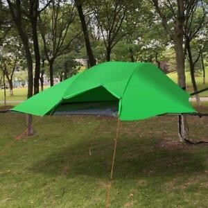 Triangle Hanging-off Tent Portable Lightweight Hammock Tree House US Stock