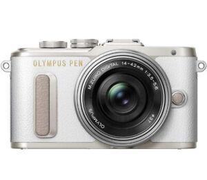 Olympus PEN E-PL8 Kit weiß inkl. 14-42mm Objektiv Kompakte Systemkamera Kamera