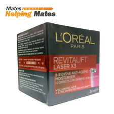 LOREAL PARIS REVITALIFT LASER X3 ANTI-AGEING INTENSIVE MOISTURISER 50ML DAY